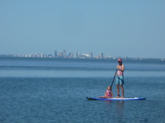 SUPing in Tampa